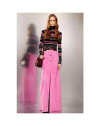 Emilio Pucci - Multicolor Striped Turtleneck Sweater - Lyst