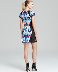 MILLY | Multicolor Dress Illusion Print | Lyst