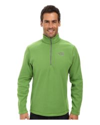 The North Face | Green Tka 100 Glacier 1/4 Zip for Men | Lyst