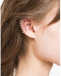 Need Supply Co. - Metallic Barre Earring - Lyst