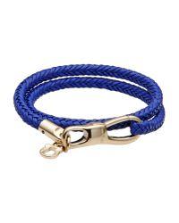 Ferragamo - Blue Bracelet - Lyst