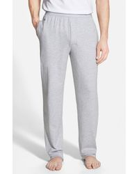 Lacoste | Gray Pique Lounge Pants for Men | Lyst