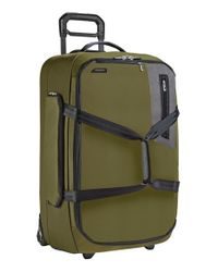 Briggs & Riley - Green 'expedition' Large Wheeled Duffel Bag for Men - Lyst