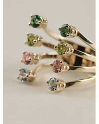 Delfina Delettrez   Metallic Topaz Ring   Lyst