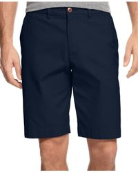 Tommy Hilfiger | Blue Big & Tall Chino Shorts for Men | Lyst