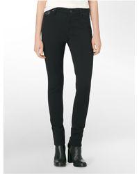 Calvin Klein - Black Jeans 5-pocket Ponte Leggings - Lyst