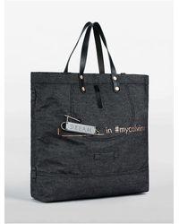 Calvin Klein | Blue Jeans Denim Dream Tote Bag | Lyst