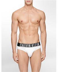 Calvin Klein White Intense Power Micro Hip Brief for men