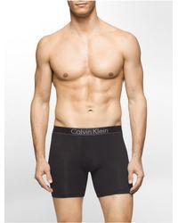 Calvin Klein | Black Modern Modal Boxer Brief for Men | Lyst