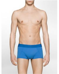Calvin Klein | Blue Underwear Ck Black Low Rise Trunk for Men | Lyst