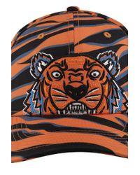 KENZO - Multicolor Tiger Cap for Men - Lyst