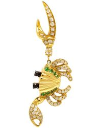 Yvonne Léon - Metallic 18kt Gold Crab Earring - Lyst