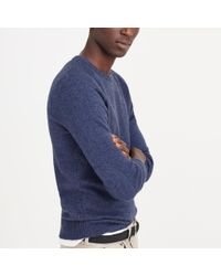 J.Crew | Blue Slim Softspun Sweater for Men | Lyst