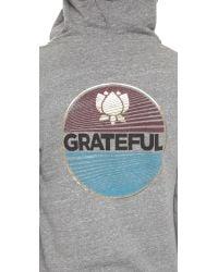 Spiritual Gangster - Gray Varsity Hoodie - Heather Grey - Lyst