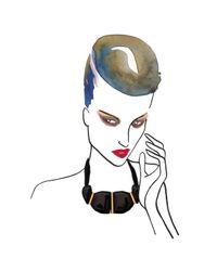 Marion Vidal - Metallic Heloise Ceramic Necklace - Lyst