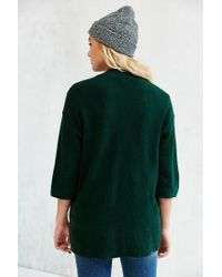 Silence + Noise - Green Claire Cardigan - Lyst