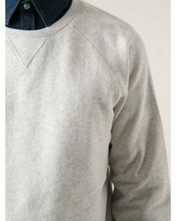 Hope | Gray Crew Neck Sweatshirt for Men | Lyst