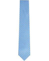 Ferragamo | Blue Hummingbird Silk Tie - For Men for Men | Lyst