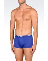 Emporio Armani - Blue Boxers for Men - Lyst