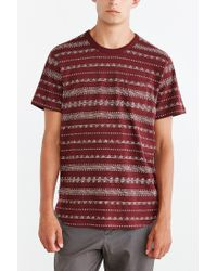 Obey - Purple Mateo Tee for Men - Lyst