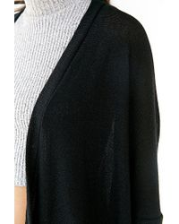 Silence + Noise - Black Mona Zip-up Cardigan - Lyst