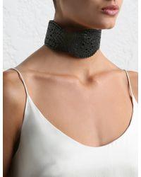 Zimmermann - Black Filigree Collar - Lyst