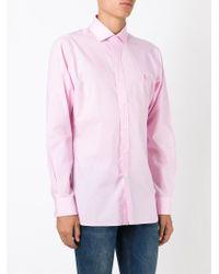 Polo Ralph Lauren - Pink Fine Check Shirt for Men - Lyst