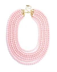 BaubleBar | Pink Bold Beaded Strands | Lyst