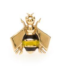 Alison Lou - Metallic Bee Stud Earrings - Lyst