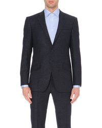 Richard James | Blue Single-breasted Wool And Silk-blend Blazer for Men | Lyst