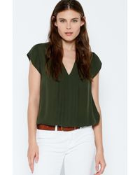 Joie | Green Marcher Top | Lyst