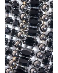 DANNIJO   Metallic Hilaria Crystal Collar Necklace   Lyst