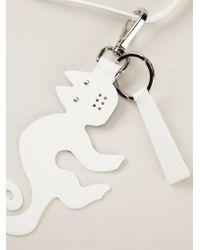 Jil Sander Navy | Black Cat Pendant Necklace | Lyst