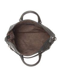 Bottega Veneta - Gray The Convertible Intrecciato Leather Tote - Lyst