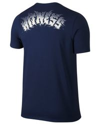 Nike - Blue Men's Lebron Dri-fit Chalk T-shirt for Men - Lyst
