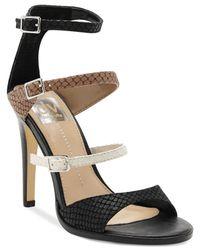 Dolce Vita - Black Dv By Talin High Heel Sandals - Lyst