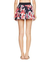 kate spade new york | Multicolor Colombe D'or Pleated Skirt Cover Up | Lyst