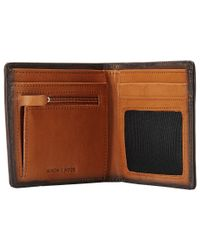 Nixon | Brown Hyde Bi-Fold Wallet for Men | Lyst