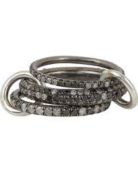 Spinelli Kilcollin | Metallic nova Gris Pave Ring | Lyst