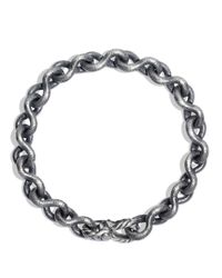 David Yurman - Black Petrvs Chain Bracelet for Men - Lyst