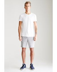 Forever 21 - Blue Slub Knit Sweatshorts for Men - Lyst