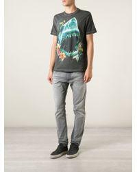 DIESEL   Black 'T-Melina' T-Shirt for Men   Lyst