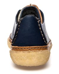 Clarks - Blue The Vulco Arrow Shoe for Men - Lyst