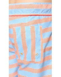 Parke & Ronen | Pink Chora Swim Trunks for Men | Lyst