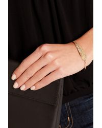 Daniela Villegas - Natural Blow 18-Karat Rose Gold Diamond Bracelet - Lyst