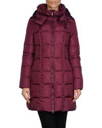 Add - Purple Down Jacket - Lyst