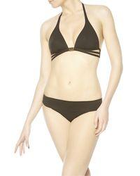 La Perla   Black Eclipse Triangle Bikini Top   Lyst