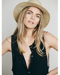 Free People | Black We The Free Union Henley | Lyst