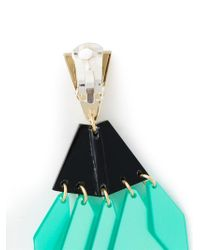 Silvia Rossi | Black 'odd Couple' Earrings | Lyst