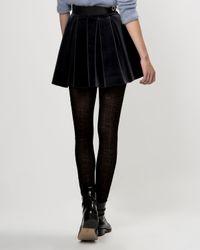 Maje - Black Skirt Gueridon - Lyst